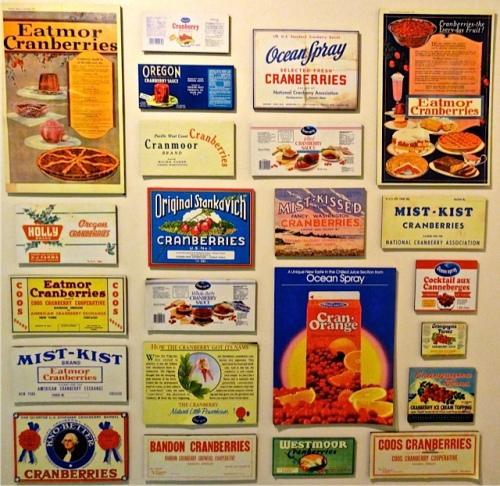 Cranberry Museum labels
