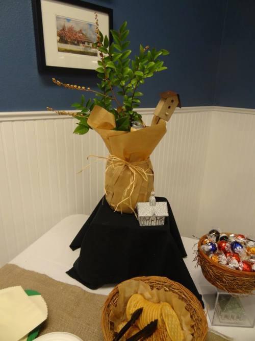 bird-themed decorations