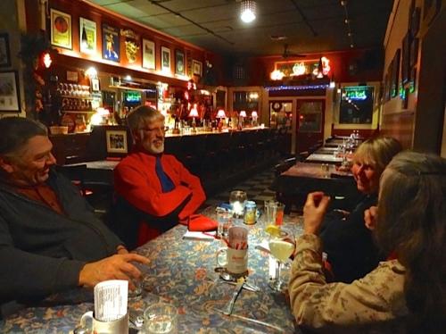 burger night at The Depot (Allan's photo)