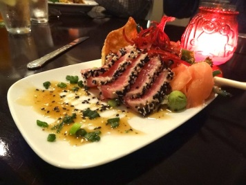 Ahi Tuna (mine; you can now get two sizes; this is the small)