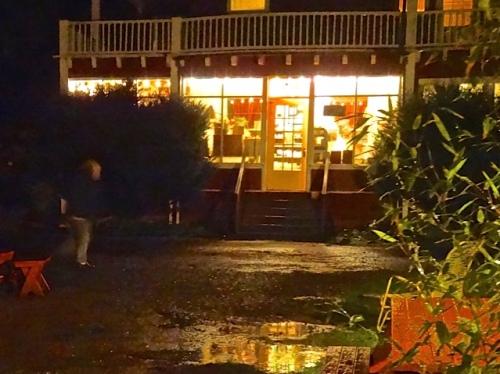 Sou'wester in rain (Allan's photo)