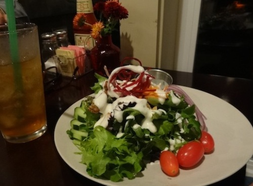 Cove dinner salad