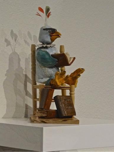 bookish bird by Sue Raymond