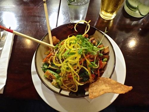 Allan's noodle bowl