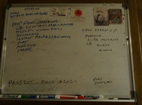 the work board as of tonight