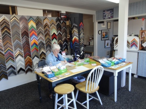 card making kits and framing supplies at The Picture Attic