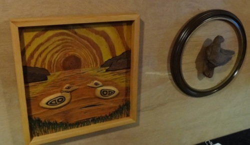 Jim Unwin's art of carving