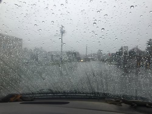 dramatically increasing rain