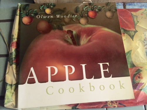 This gift from Nancy to Allan should be most helpful for next year's apple harvest.