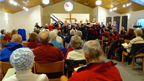 a full house (Allan's photo)