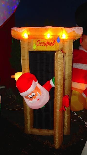 Santa's outhouse (!!), Allan's photo