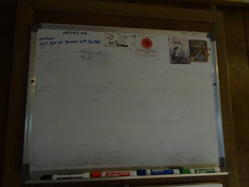 the glorious moment of a completely erased 2016 work board!