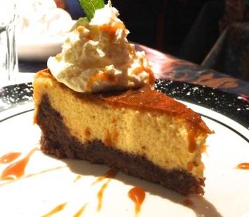 and eggnog cheesecake!
