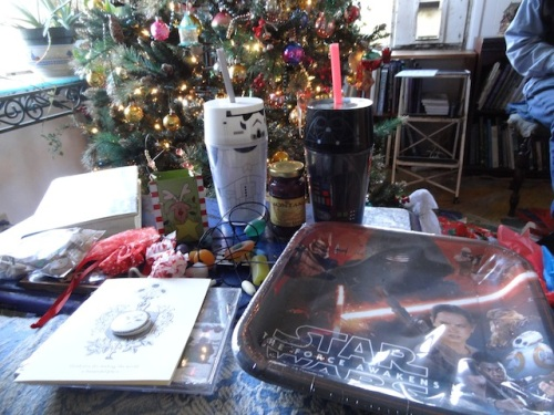 She, Don, and Joe Nisbett understand my obsession with Star Wars!