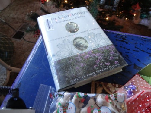 From Montana Mary, among other things: a book called Two Gardeners, letters between two of my favourite garden writers.