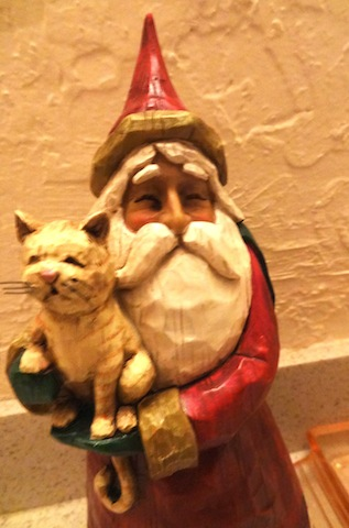 Santa still loves them, naughty or nice.