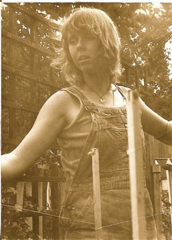 me in my Seattle garden, summer 1979