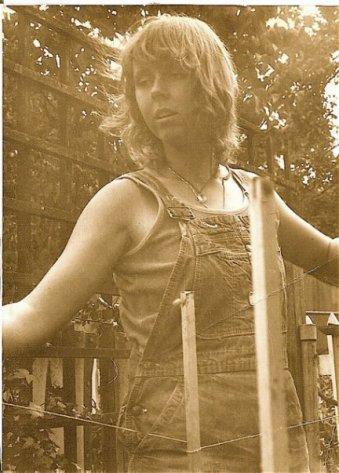 me in my Seattle garden, summer 1979