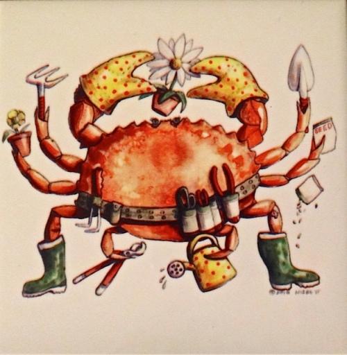 The Crabby Gardener by Don Nisbett