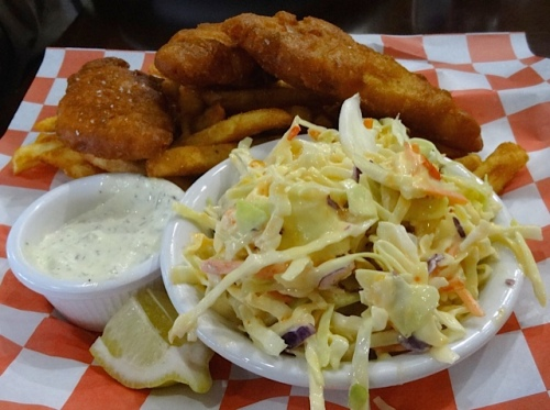 Allan's fish and chips