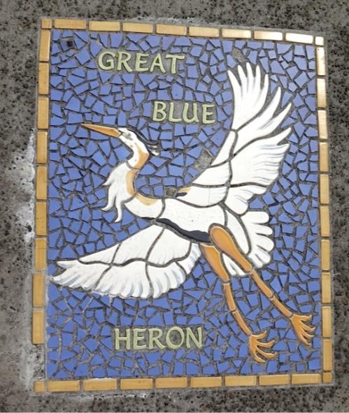 sidewalk tile by Renee O'Connor