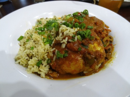 my middle eastern spicy chicken dish
