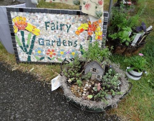 Hudson Gardens fairy gardens