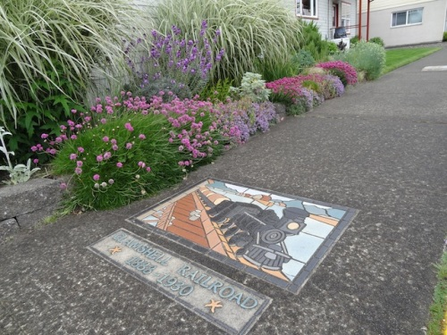 sidewalk tile by Renee O'Connor
