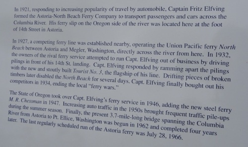 ferry wars