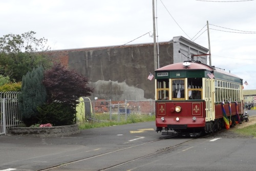 Ding Ding Ding! came the trolley....