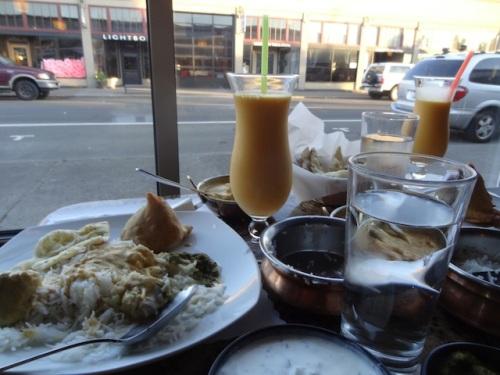 dinner at Himani