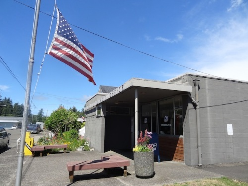 Ilwaco post office