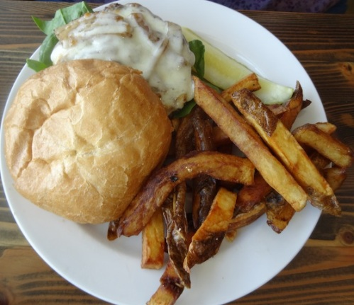 a burger for Kathleen