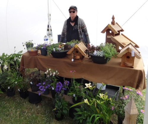 Back outside to the market: The English Nursery