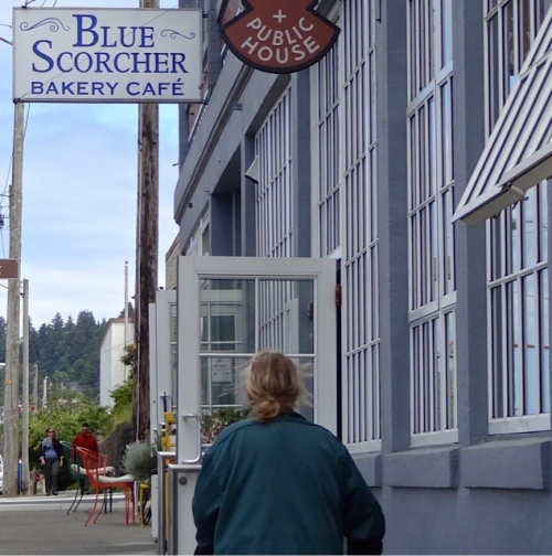 Blue Scorcher