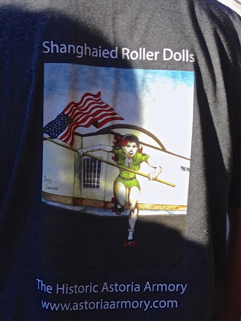 *The Shanghaied Roller Dolls were represented.