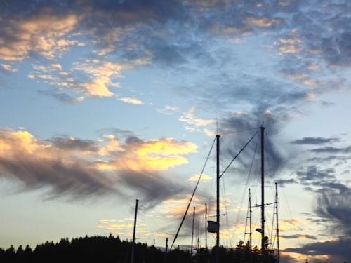 sunset (Allan's photo)