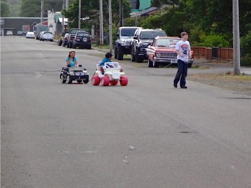 traffic jam in town (Allan's photo)