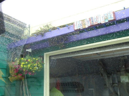 at home: a welcome rain