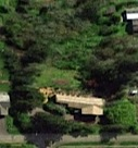 The yard from Google Earth...so private...will soon be for sale. The house is said to be seven bedrooms.