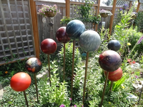 the yard sale bowling balls