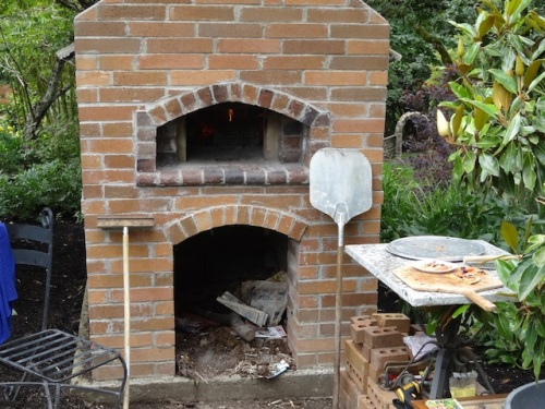 delicious wood fired pizza