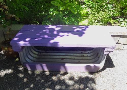 an interesting bench