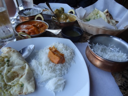 a feast at Himani Indian Cuisine in Astoria ended our four day holiday.