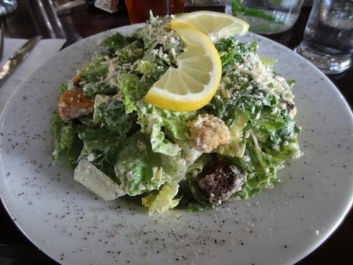 refreshing Caesar salad