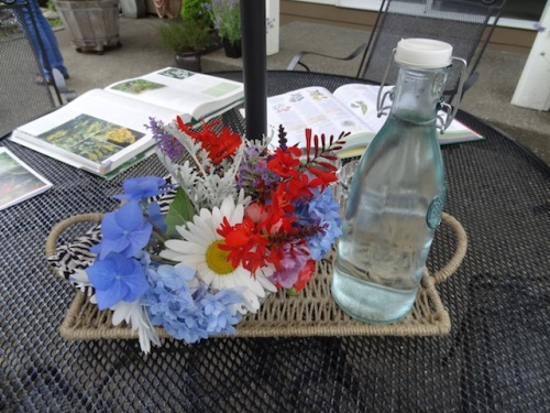 bouquet and gardening books
