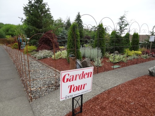 Yes, this was indeed the tour garden.