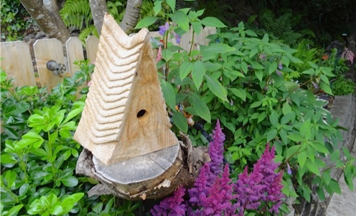 We have a birdhouse just like that from Ilwaco Saturday Market!