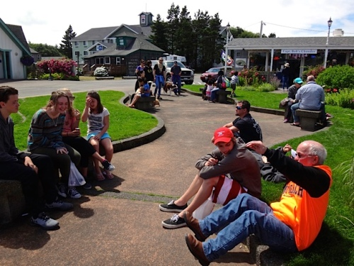 Busy town: Fifth Street Park (Allan's photo)