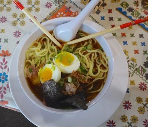 vegetable noodle bowl (Allan's photo)